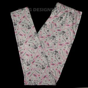 b4e44855c6abb8 Pants - NURSE - MEDICAL FIELD INSPIRED CUSTOM LEGGINGS
